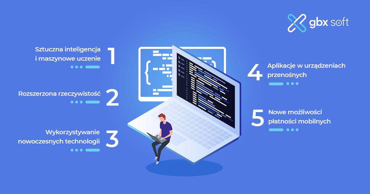 5 najważniejszych trendów w programowaniu