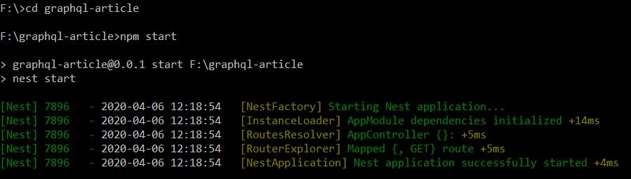 Uruchomienie projektu przy użyciu komendy npm